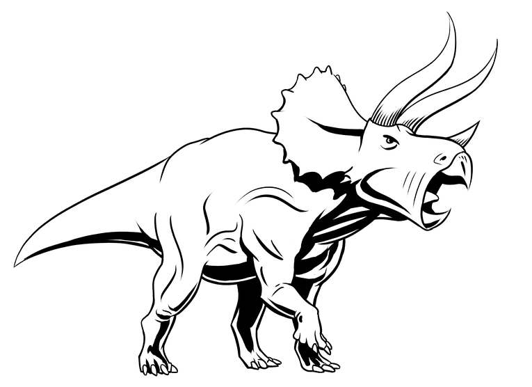 Triceratops spotted blacks